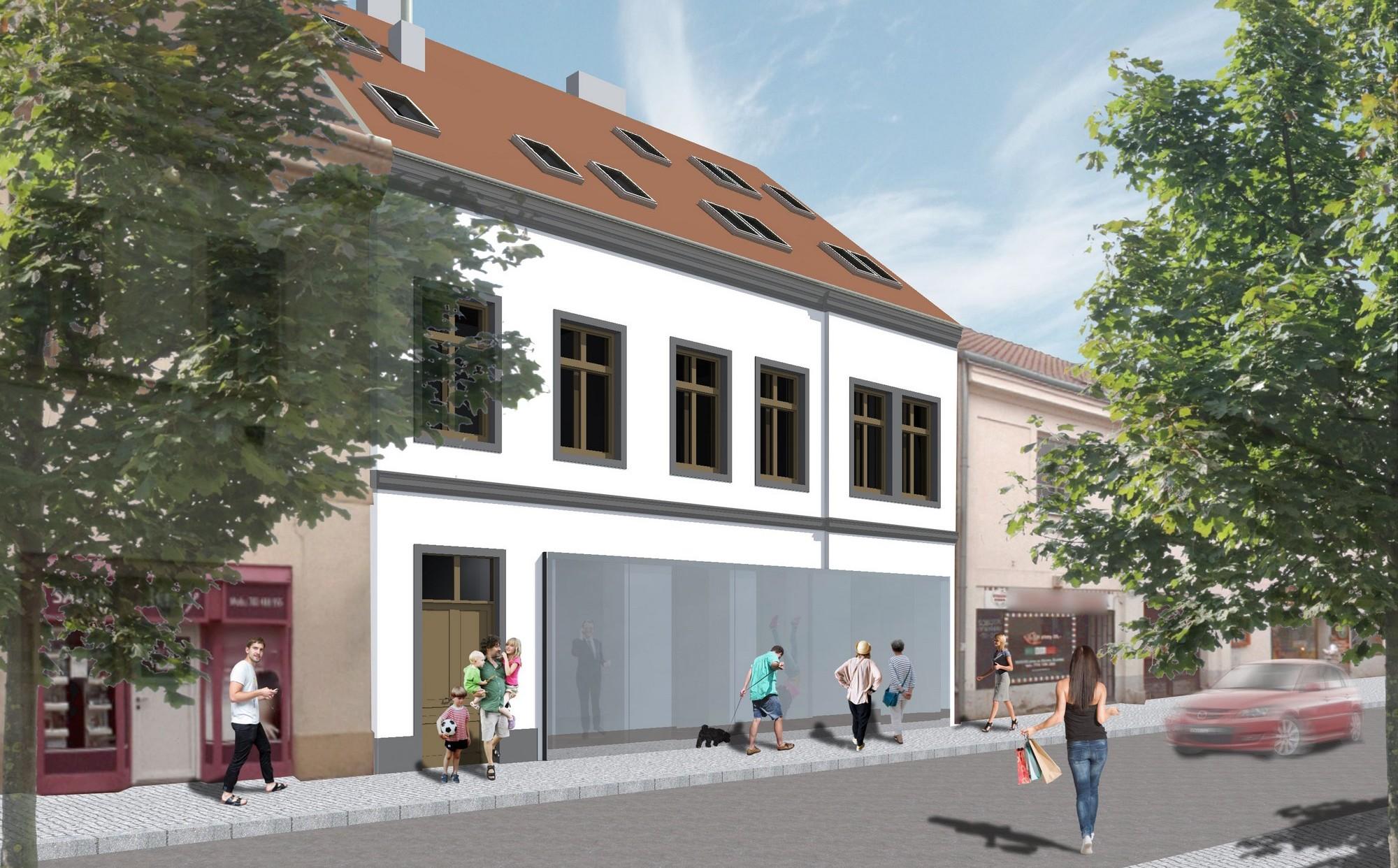 Bytový dům ve Slaném - image