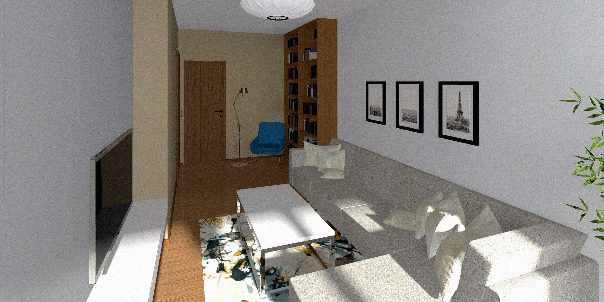 Rekonstrukce bytu v panelovém domě - image