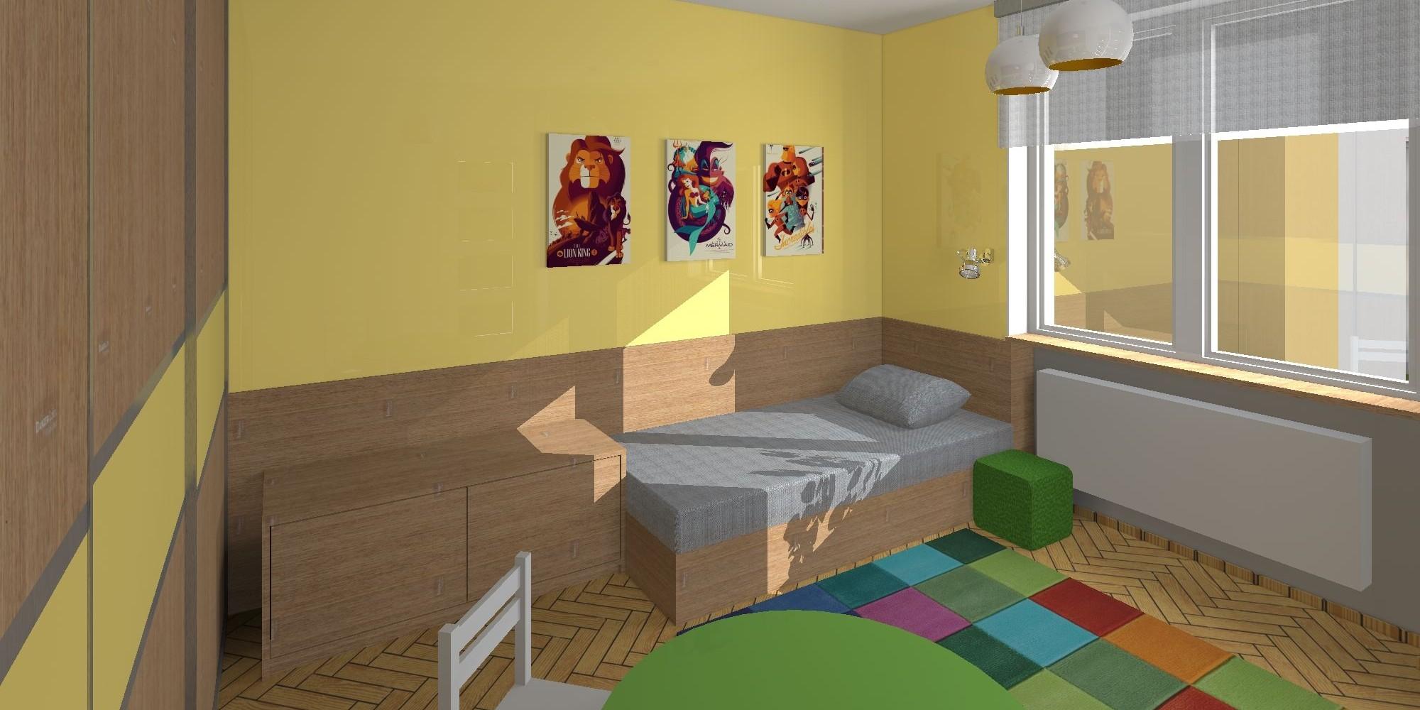 Návrh dětského pokoje - image