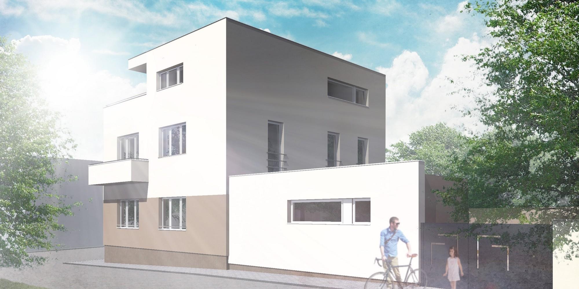 Rekonstrukce a přestavba vily v Lounech - image