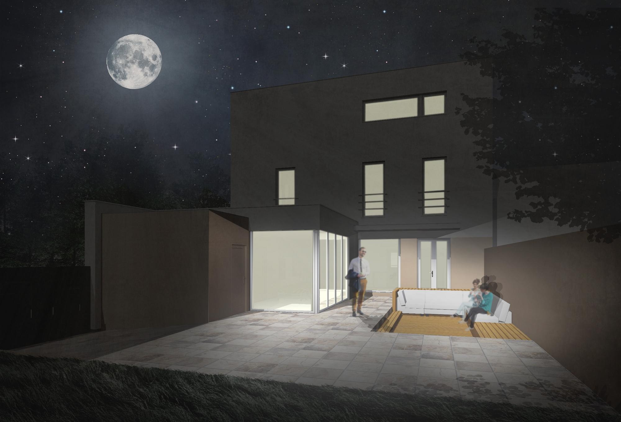 Rekonstrukce vily v Lounech - image