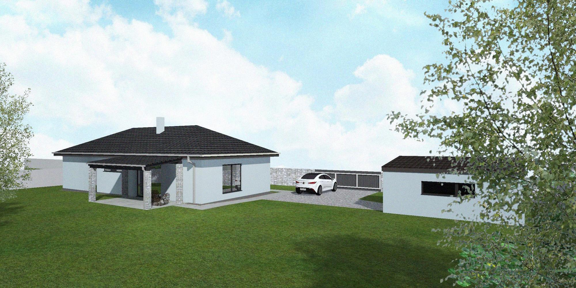 Rodinný dům v Podbořanech - image