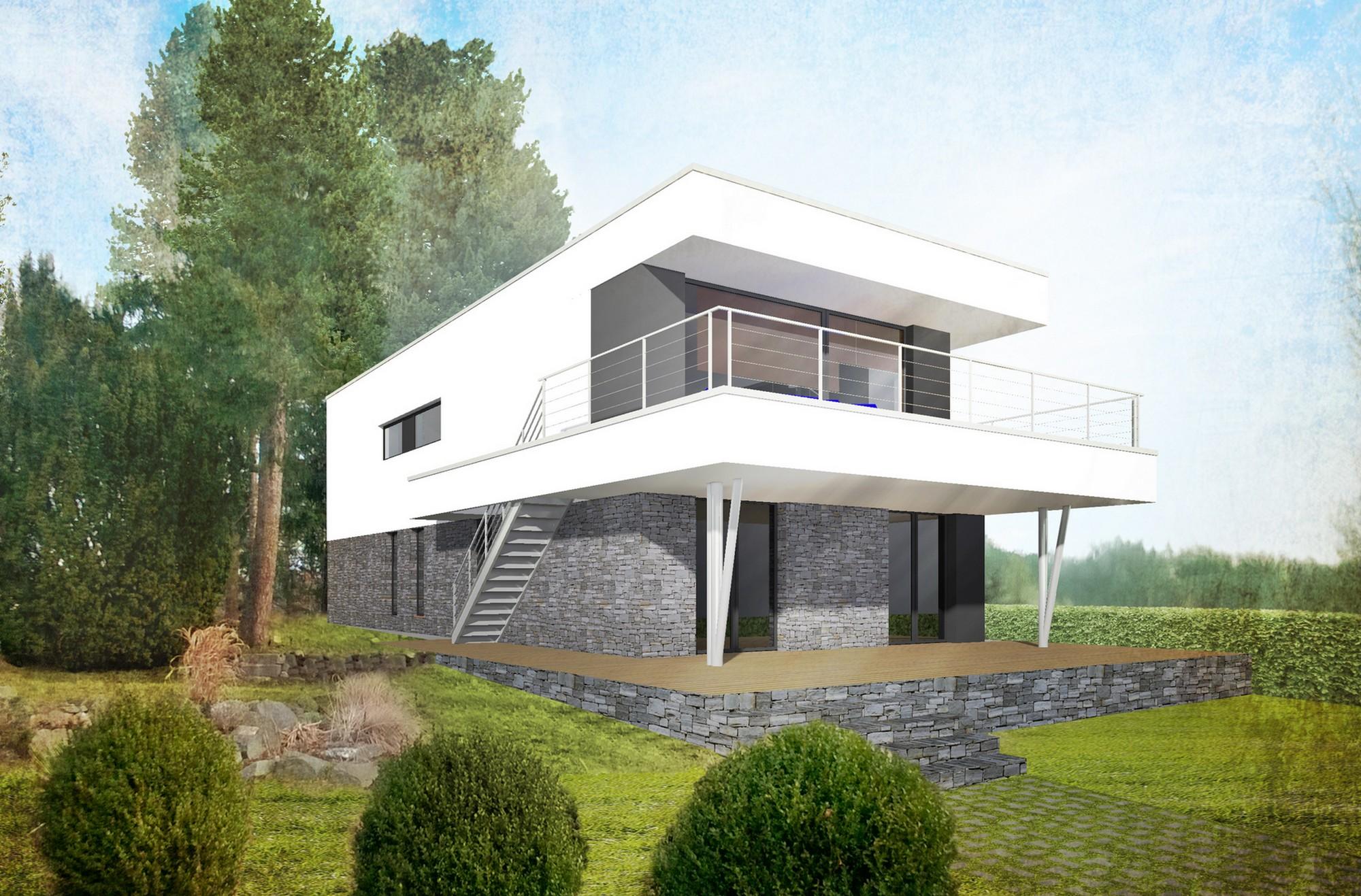 Rodinný dům na Slapech - image